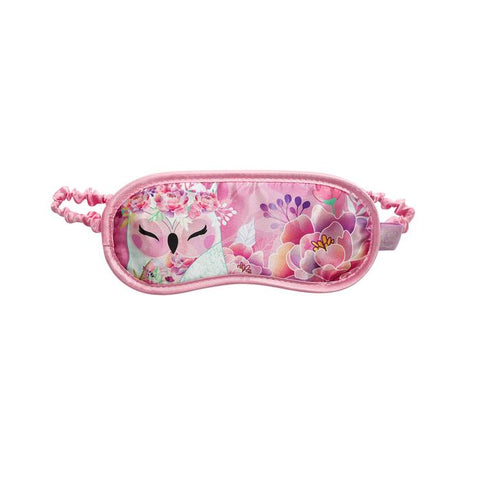KINDNESS - Owl Satin Eye Mask - Wise Wings - Mother's Day Gift idea