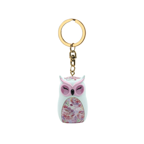 KINDNESS - Owl Figurine Keychain 45mm - Wise Wings - Mother's Day Gift idea