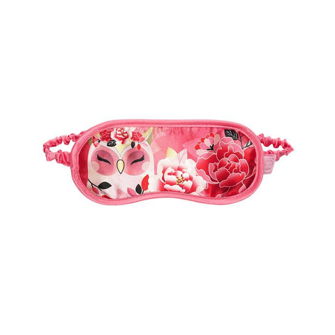 WISDOM - Owl Satin Eye Mask - Wise Wings - Gift idea