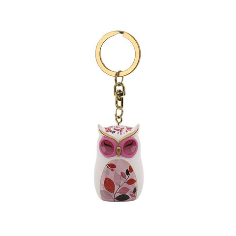 WISDOM - Owl Figurine Keychain 45mm - Wise Wings - Gift idea
