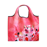 WISDOM - Owl ECO Foldable Shopping Bag Tote - Wise Wings - Gift idea
