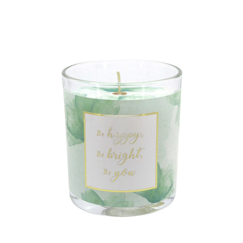 You are an Angel - BE HAPPY Spring Blossom Scented Candle - Soy Wax 225g