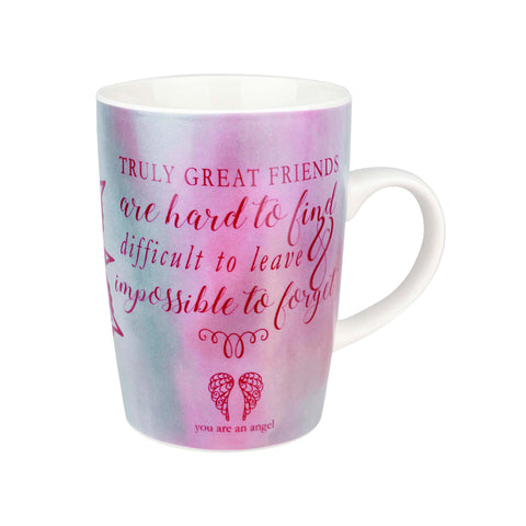 You are and Angel - Truly Great Friends - Bone China Mug - Gift Idea