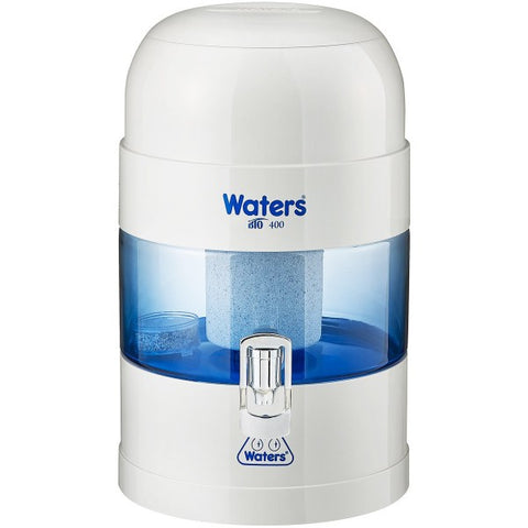 BIO 400 Bench Top Alkaline Water Filter 5.25 Litre - White