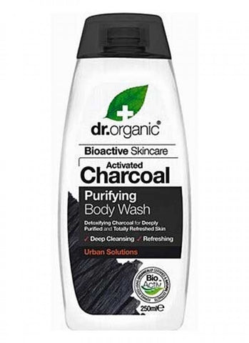 Dr Organic Activated Charcoal Body Wash 250ml - September Special Offer