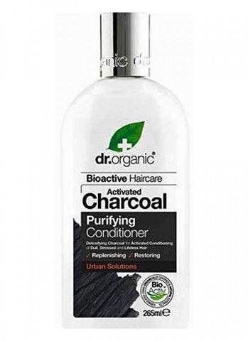 Dr Organic Activated Charcoal Conditioner 265ml - October Special Offer