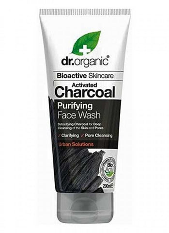 Dr Organic Activated Charcoal Face Wash 200ml