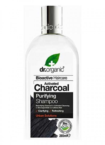 Dr Organic Activated Charcoal Shampoo 265ml - September Special Offer
