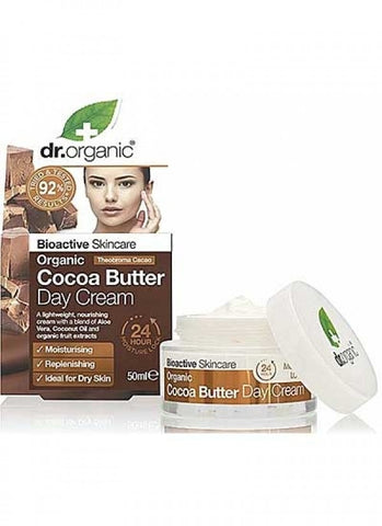 Dr Organic Cocoa Butter Day Cream - 50ml