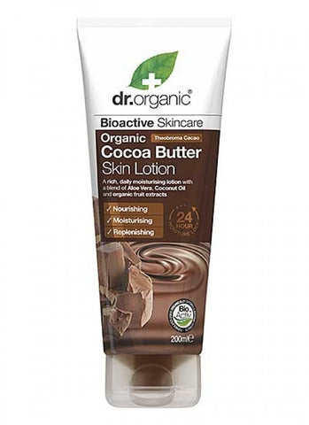Dr Organic Cocoa Butter Skin Lotion 200ml