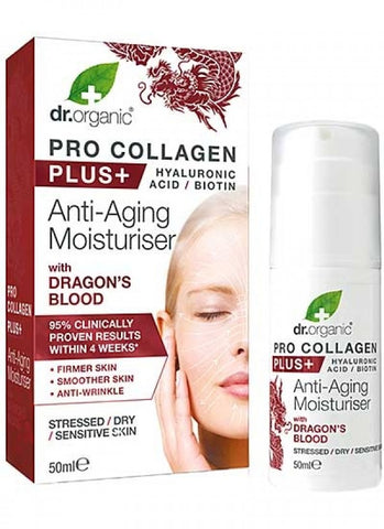 Dr Organic Pro Collagen Plus Dragons Blood - 50ml
