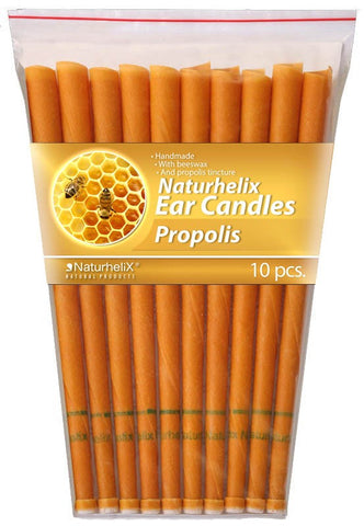 Ear Candles (Aromatherapy) Propolis Essential Oil - 5 Pairs - Ear, Nose and Throat - Organic - Naturhelix Australia - September Special Offer