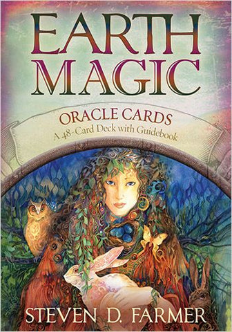 Earth Magic Oracle Cards - Steven D Farmer