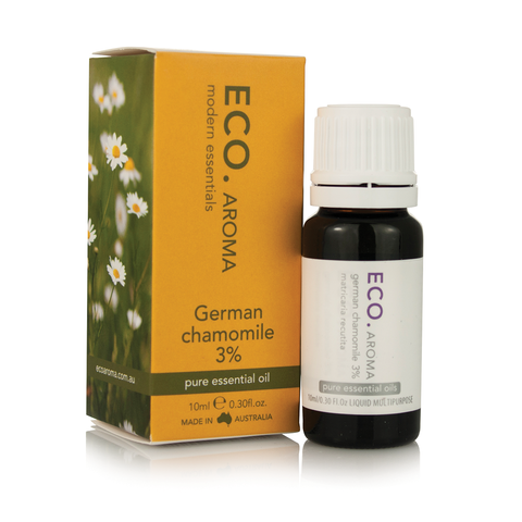 Chamomile (German) Essential Oil 3% 10ml - ECO Aroma