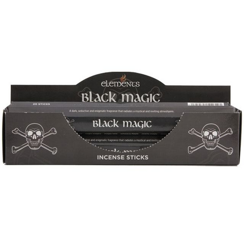 Black Magic Incense - Elements - 20 Sticks