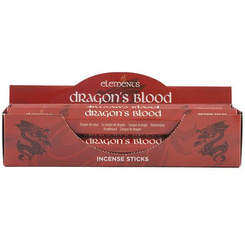 Dragons Blood Incense - Elements - 20 Sticks
