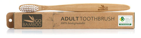 Go Bamboo Toothbrush | Adult