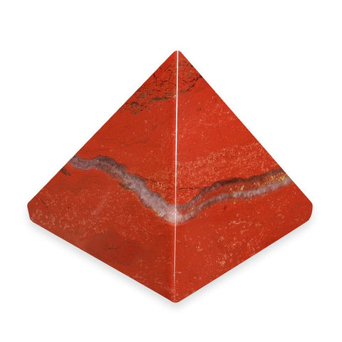 Red Jasper Pyramid 35mm - Energy, Protection and Healing - Crystal Healing - Gift Idea