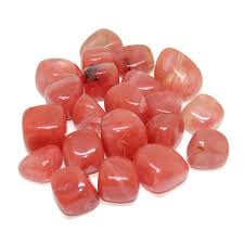 Cherry Quartz Small Tumbled Stone - Anxiety Relief and Uplifting