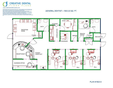 800 sq ft office plan home design ideas and pictures for Dental office design 1500 square feet