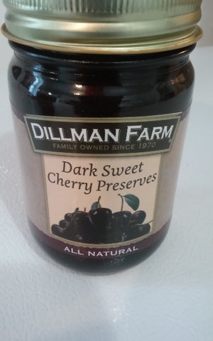 Dillman Farm Dark Sweet Cherry Preserves