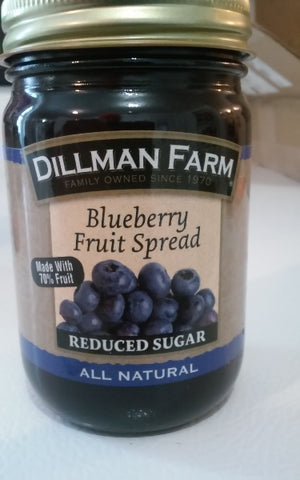 Dillman Farm Blueberry Fruit Spread