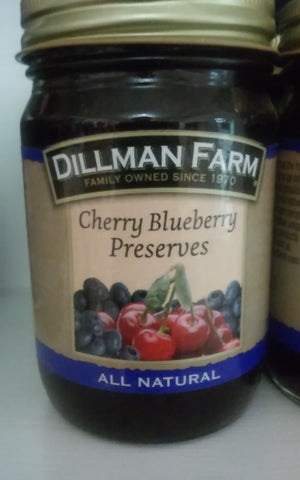 Dillman Farm Cherry Blueberry Preserves
