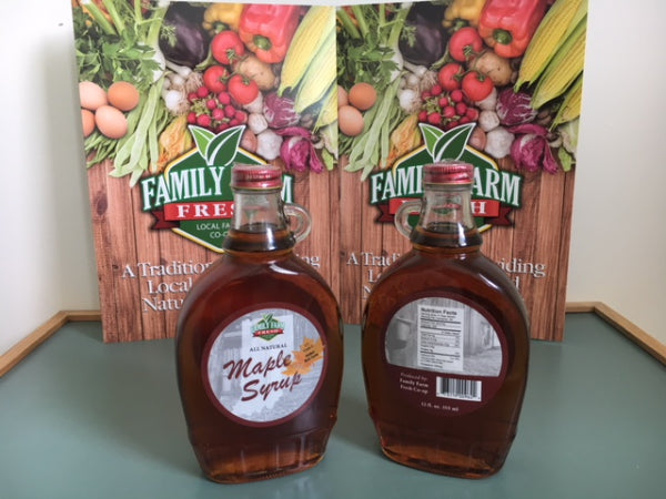Indiana Pure Maple Syrup 12oz
