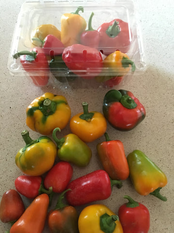 Lunch Box/Snack Peppers - Organic (qty 8-10)