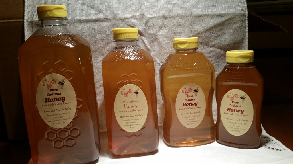 3 lbs Raw Indiana Honey