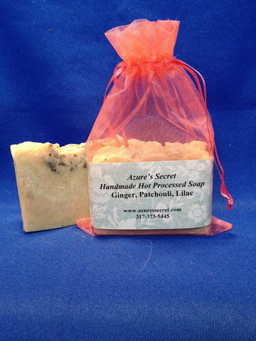 Ginger-Patchouli-Lilac Soap