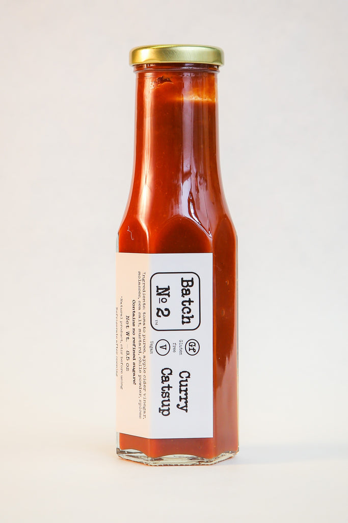 Batch No. 2 - Curry Catsup - (8.5 oz)