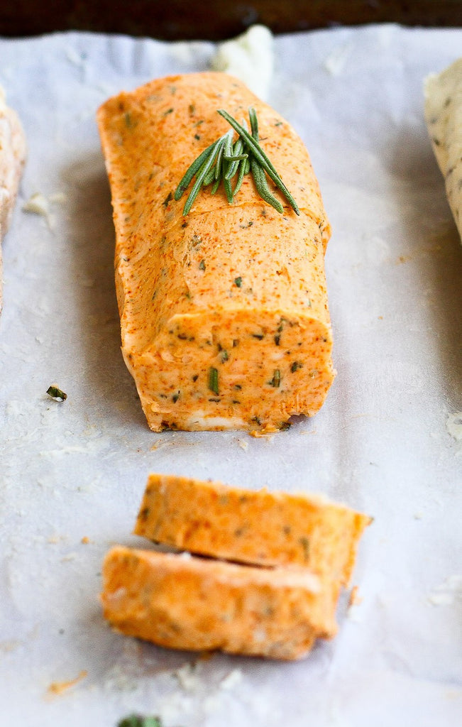 Roasted Red Pepper Rosemary Butter--4oz