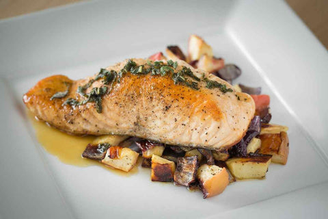 Just Add Meat Meal Kit (2 Servings): Pan Roasted Salmon with Apples