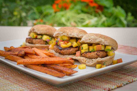 Just Add Meat Meal Kit (2 Servings): Chipotle Turkey Burgers