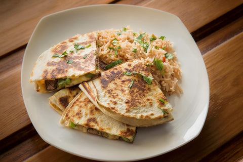 Just Add Meat Meal Kit (2 Servings): Steak Quesadillas with Spanish Rice