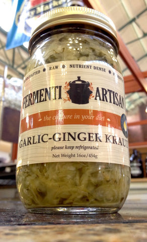 Garlic - Ginger Kraut