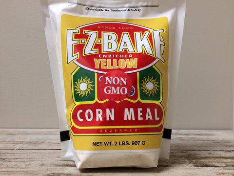 Yellow Corn Meal - non-GMO - 2 lb.