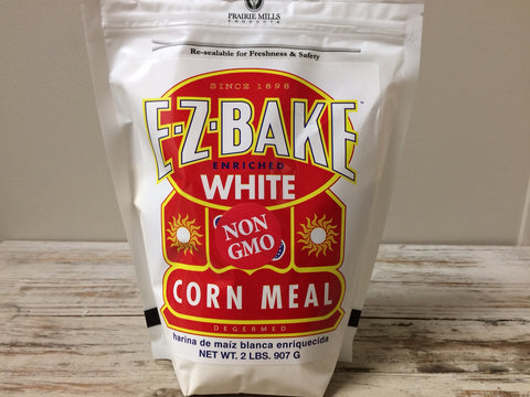 White Corn Meal - non-GMO - 2 lb.