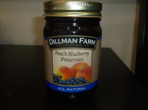 Dillman Farm Peach Blueberry Preserves