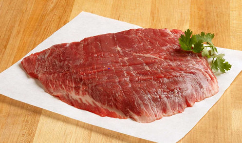 Flank Steak- ~1.68 lbs, Grass Pastured, GMO free, Anitibiotic free, Hormone free