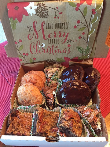 Chocolate and Spice Cookie Box