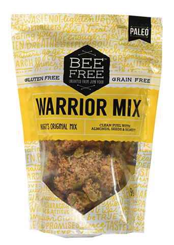 9oz Bee Free- Auggy's Original Warrior Mix