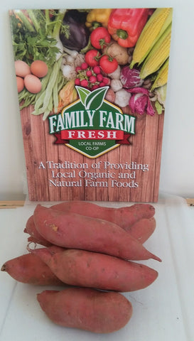 USDA Cert. Organic Sweet Potato 3 lb bag