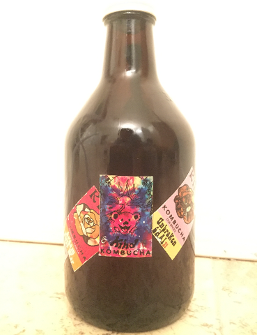 32 oz Growler - Wharf Rat (Coffee Kombucha)