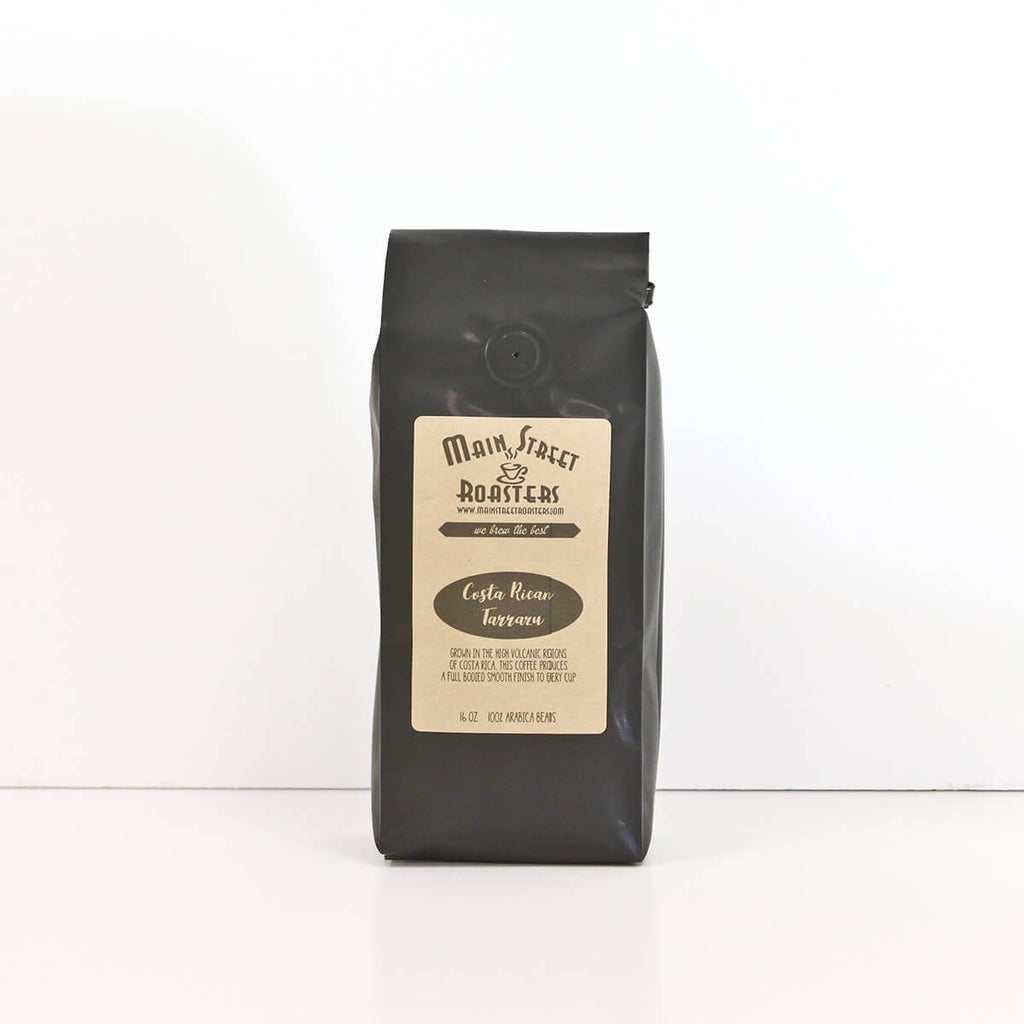 Costa Rican Tarrazu || Whole Bean Coffee || Fresh Roasted || One Pound