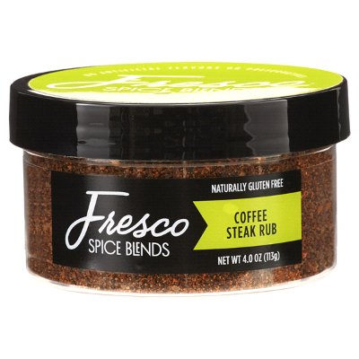 4oz Coffee Steak Rub - Fresco Spice Blends