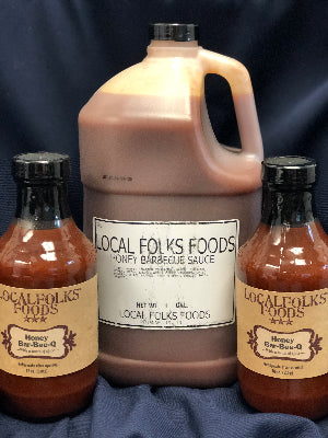 1gal Honey Bar-BEE-Que Sauce - LocalFolks Foods