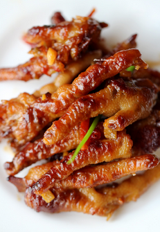 Chicken Feet- ~1.75 lbs, Pastured, GMO Free, Antibiotic Free, Organically Processed