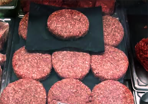 Ground Beef Patties (1/2lb Patties | 5lb Box | 10 patties)